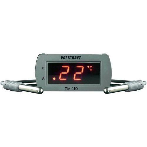 Termometr tablicowy, panelowy  tm-110, -49 +99 °c, dokładność: ± 1.5 °c marki Voltcraft
