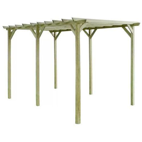 pergola ogrodowa, 4x2x2 m, impregnowane drewno sosnowe marki Vidaxl