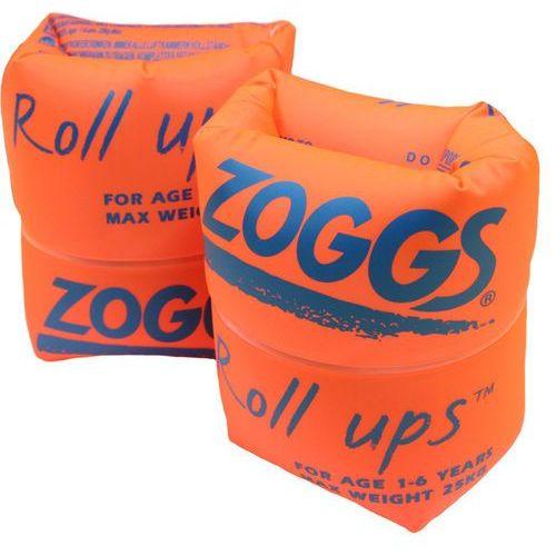Zoggs roll ups dzieci pomarańczowy/niebieski 1-6 lat 2018 akcesoria pływackie i treningowe (0749266012043)
