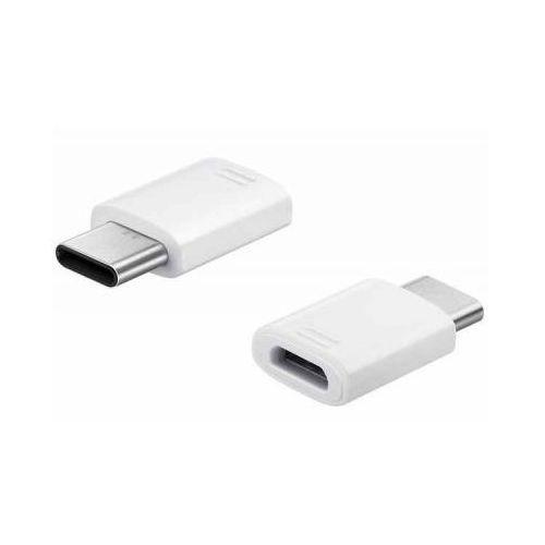 Samsung Adapter gh98-40218a micro usb na usb c typ c biały