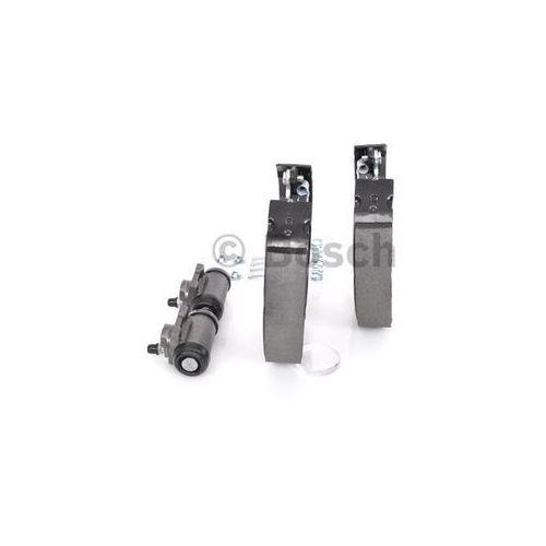 Bosch  kit superpro, zestaw szczek hamulcowych + cylinderek hamulca koła; zamontowany; z tyłu, 0 204 114 040 (4047024894211)