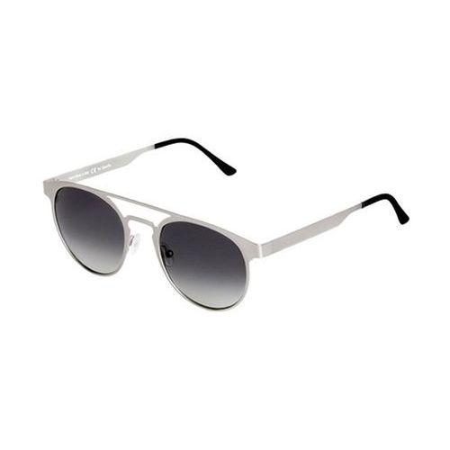 Okulary Słoneczne Spektre Doppio Ponte Metal DM02A/Silver (Gradient Smoke), kolor żółty