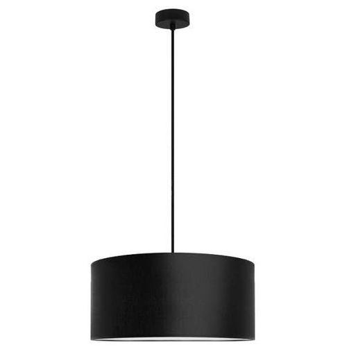 Sotto luce Klasyczna lampa wisząca mika xl1/s/black abażurowa oprawa okrągła czarna (1000000200157)