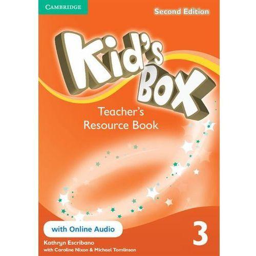 Kid's Box 3 Second Edition. Teacher's Resource Book + Online Audio (opr. miękka)