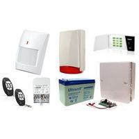 Satel Zestaw alarmowy micra led, 2 piloty, 4 czujniki bezprzewodowe, sygnalizator zewnętrzny