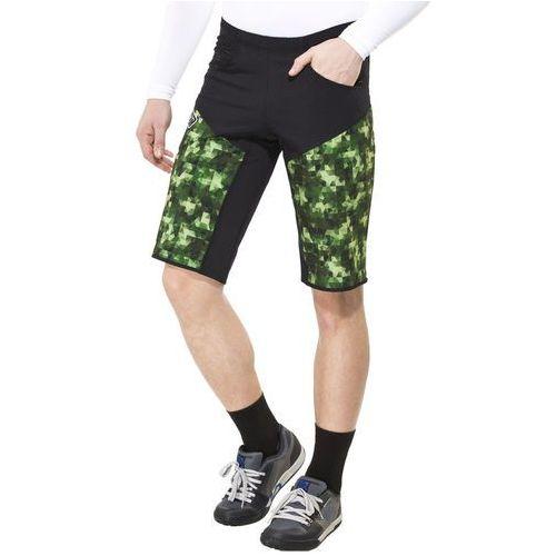 Bioracer enduro spodnie rowerowe mężczyźni zielony/czarny l 2018 spodenki rowerowe