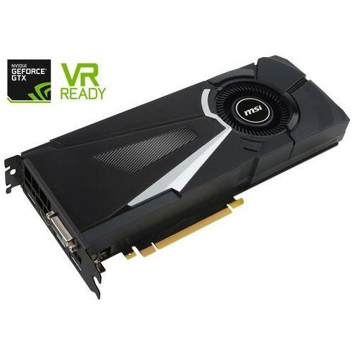Karta graficzna MSI GeForce GTX 1080 Aero 8GB GDDR5X (256 bit) HDMI, DVI, 3x DP, BOX (V336-015R) Szybka dostawa! Darmowy odbiór w 19 miastach!