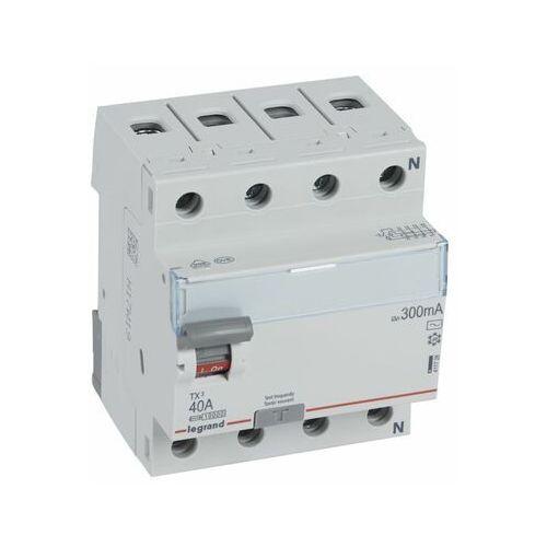 Legrand Wyłącznik różnicowoprądowy p304 tx3 40a 300ma ac 4p