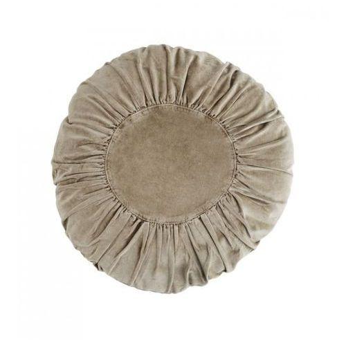 Madam Stoltz - Okrągła aksamitna poduszka
