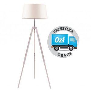 Lampa stojąca SPOTLIGHT Tripod 6022032 Dąb Bielony-Beżowy + DARMOWY TRANSPORT!, 6022032