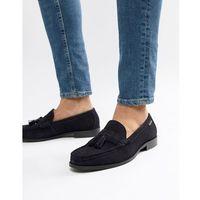 Ben Sherman Loafers Tassel Loafers In Navy Suede - Blue