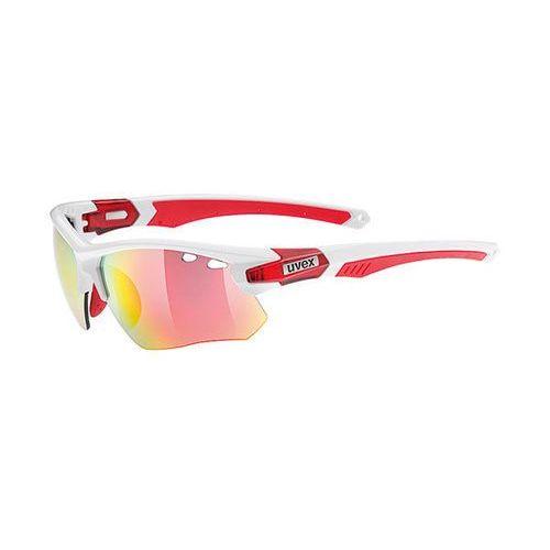 Okulary Uvex Sportstyle 109 685/8316 biało-czerwone