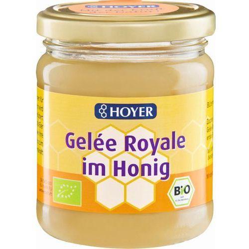 Hoyer (miody, produkty z miodem) Miód z mleczkiem pszczelim bio 250 g - hoyer