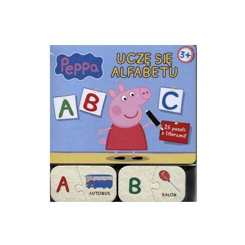 Świnka Peppa Uczę się alfabetu + puzzle - Praca Zbiorowa (9788379940721)