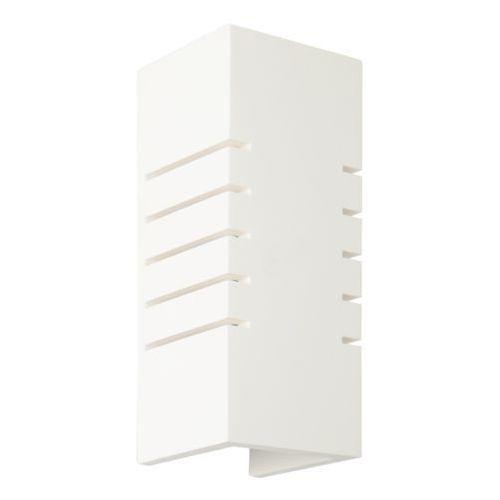 Lampex harold 697/1 bia kinkiet lampa ścienna 1x60w e14 biały (5902622120133)