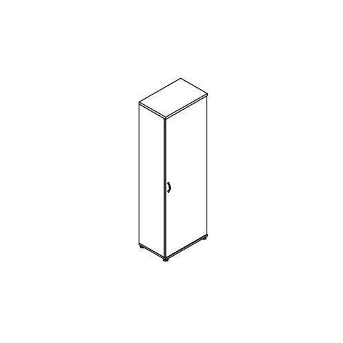 Szafa ubraniowa 1-drzwiowa H62 wymiary: 60,2x38,5x183,3 cm