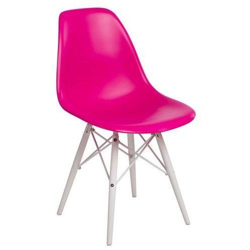 Krzesło P016W PP białe nogi (ciemna brzoskwinia) D2 (5902385724500)