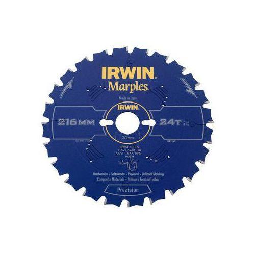 Tarcza do pilarki tarczowej 216MM/24T M/30 śr. 216 mm 24 z IRWIN MARPLES