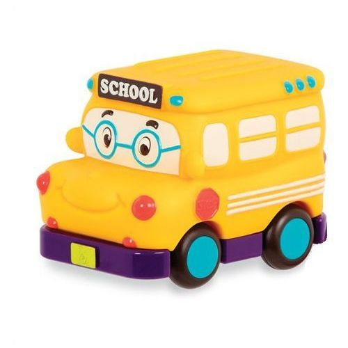 B. toys Autko mini wheeee-ls b.toys - autobus szkolny bx1495z