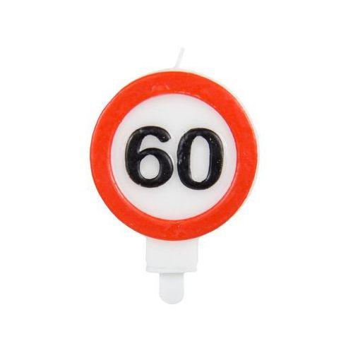 Świeczka na 60-tke znak zakazu - 1 szt. (8714572626606)