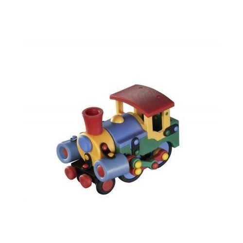 Zestaw do składania mic-o-mic wesoły konstruktor mała lokomotywa marki Mic-o-mic - zabawki konstrukcyjne