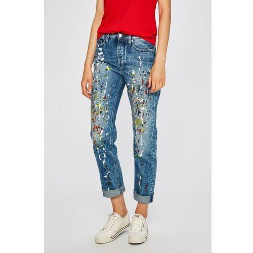 - jeansy sterling blue marki Calvin klein jeans