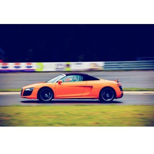 Jazda Audi R8 V10 - Jastrząb k. Kielc \ 3 okrążenia