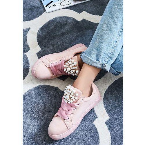 Różowe buty sportowe before finnish marki Other