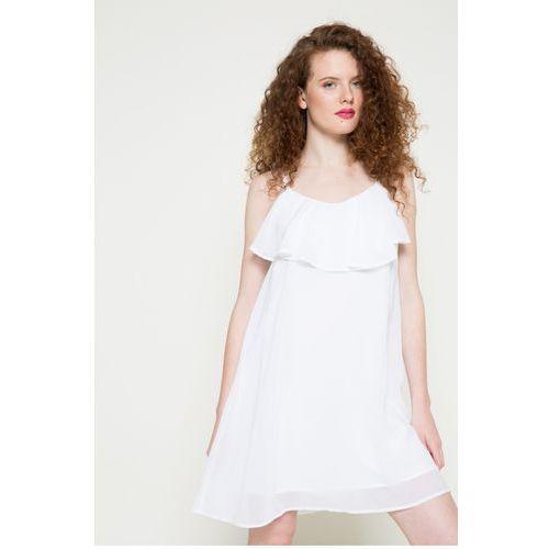 Vero Moda - Sukienka, kolor biały