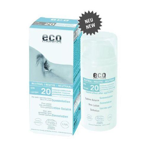 ECO Cosmetics – Emulsja na słońce faktor SPF20 Neutral 100ml - produkt z kategorii- Pozostałe kosmetyki do opalania