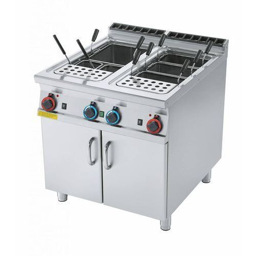 Rm gastro Urządzenie do gotowania makaronu gazowe | 2x40l | 27900w | 800x900x(h)900mm