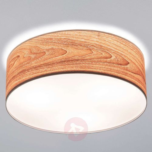 Paulmann Bardzo nowoczesna drewniana lampa sufitowa liska