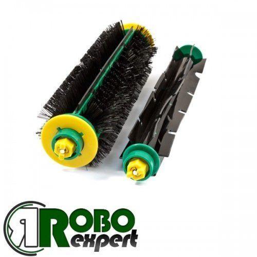 Szczotki główne zielone iRobot Roomba 5xx/6xx - RoboExpert Warszawa 790 634 007