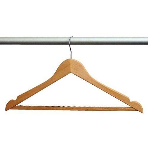 Wieszak na ubrania drewniany | 10 szt.