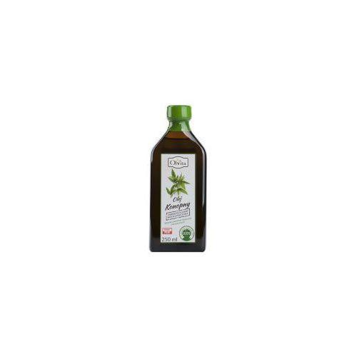 Olej konopny w opakowaniach 250 ml OlVita. Najniższe ceny, najlepsze promocje w sklepach, opinie.
