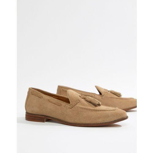 Kg kurt geiger Kg by kurt geiger tassel loafers in camel suede - beige