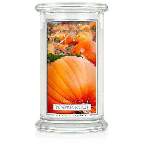 Kringle candle Pumpkin patch świeca zapachowa dyniowy czar duży słoik 22oz, 623g, 2 knoty