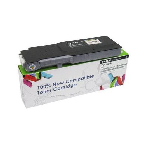 Cartridge web Toner cw-d3760bn black do drukarek dell (zamiennik dell 4cht7 / 593-11119) [11k]