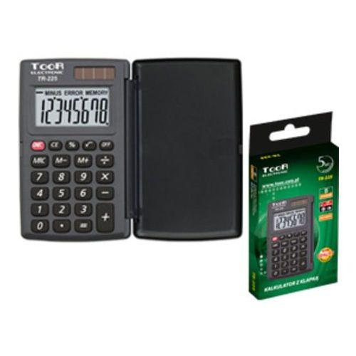 Kalkulator kieszonkowy tr-225. z klapką marki Toor