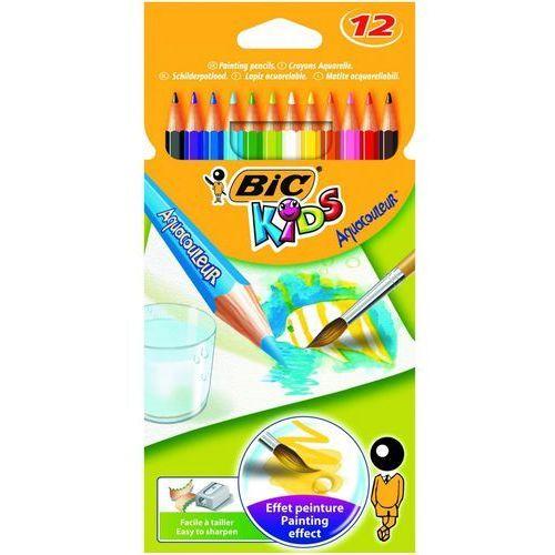 Kredki 12 kolorów Aquacouleur BiC, 857561