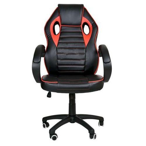 Import Fotel gamingowy obrotowy (styl racer) wybierz kolor: biały, czerwony, niebieski czerwony