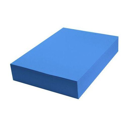 Papier techniczny kolorowy 100 ark A4 niebieski intensywny 160g