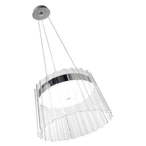 Leds-C4 Iris Lampa wisząca Chrom, 1-punktowy - Nowoczesny - Obszar wewnętrzny - Iris - Czas dostawy: od 2-3 tygodni (8435111083208)