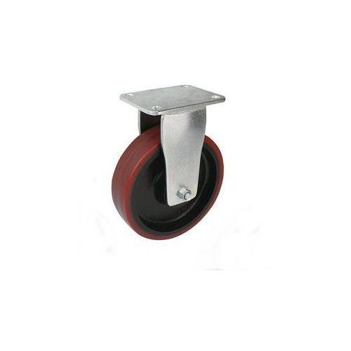 Opona poliuretanowa, wym. płytki 138 x 110 mm,Ø x szer. kółka 125 x 50 mm