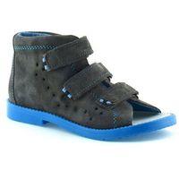 Dawid Dziecięce buty profilaktyczne 1042 - niebieski ||szary