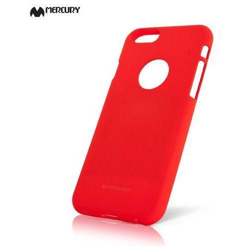 Etui Mercury Goospery Soft Feeling Case żelowe Huawei P10 Lite czerwone, kolor czerwony