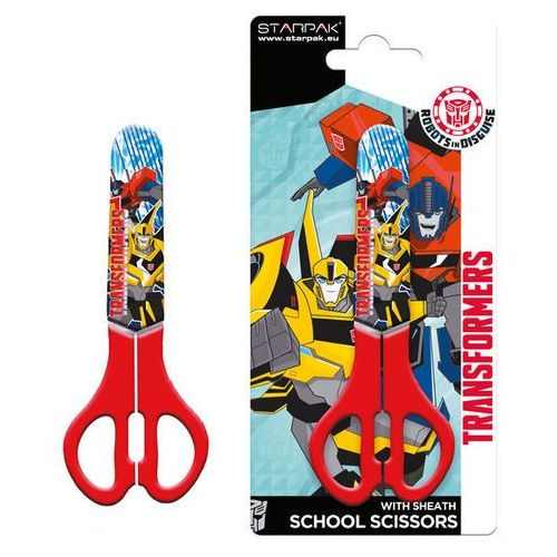 Nożyczki szkolne Transformers 130 mm, 73412203554AP (4418252)