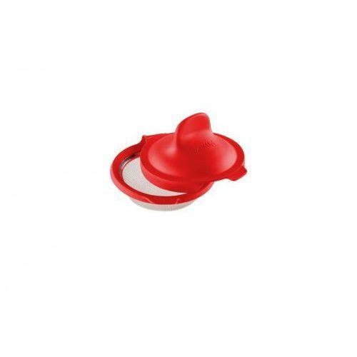 Foremka do jajek w koszulkach czerwona Lekue