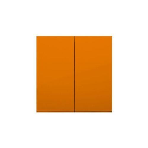 Klawisz podwójny Simon 54 DKW5/32 natynkowy do łączników i przycisków pomarańczowy Kontakt-Simon, DKW5/32