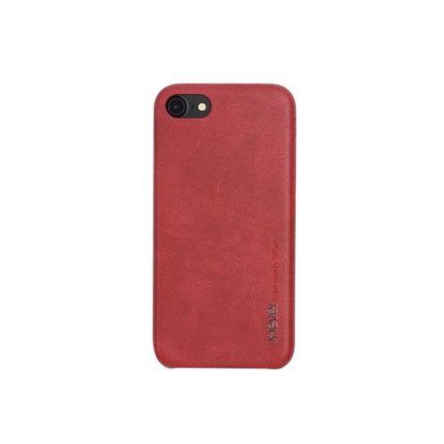Apple iphone 8 - etui na telefon vintage - red wine marki X-level